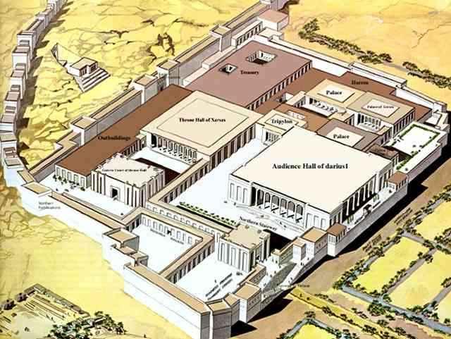 Persepolis Parsa Cais