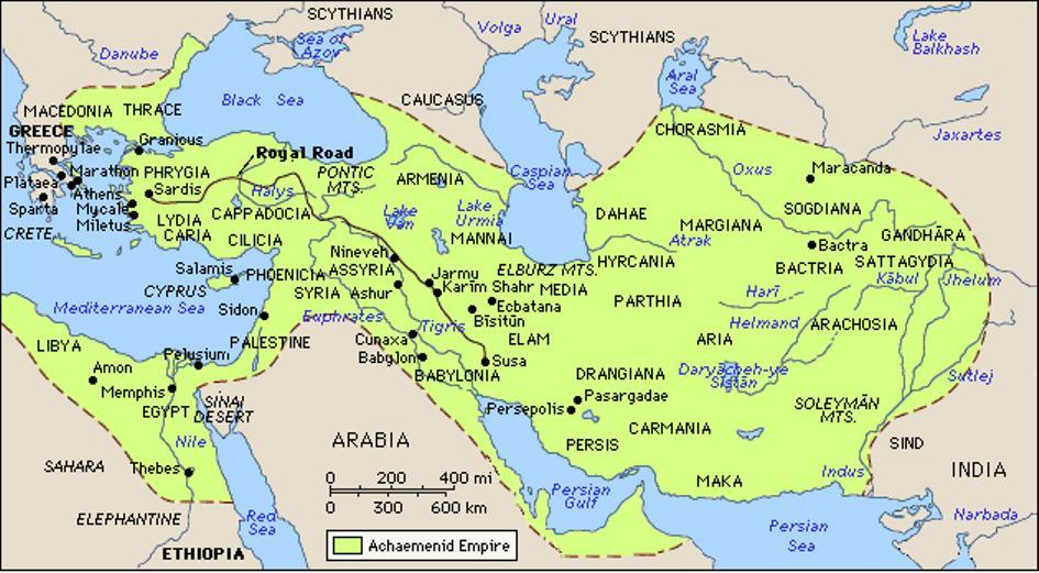 The paradise of cyrus the great during the sasanian dynasty rule in 550 bce