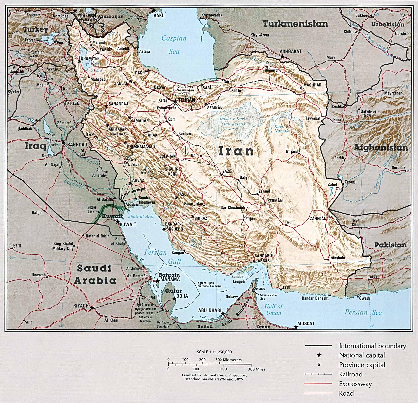 Maps: Ancient Iran Through Ages (726BCE to CE640)