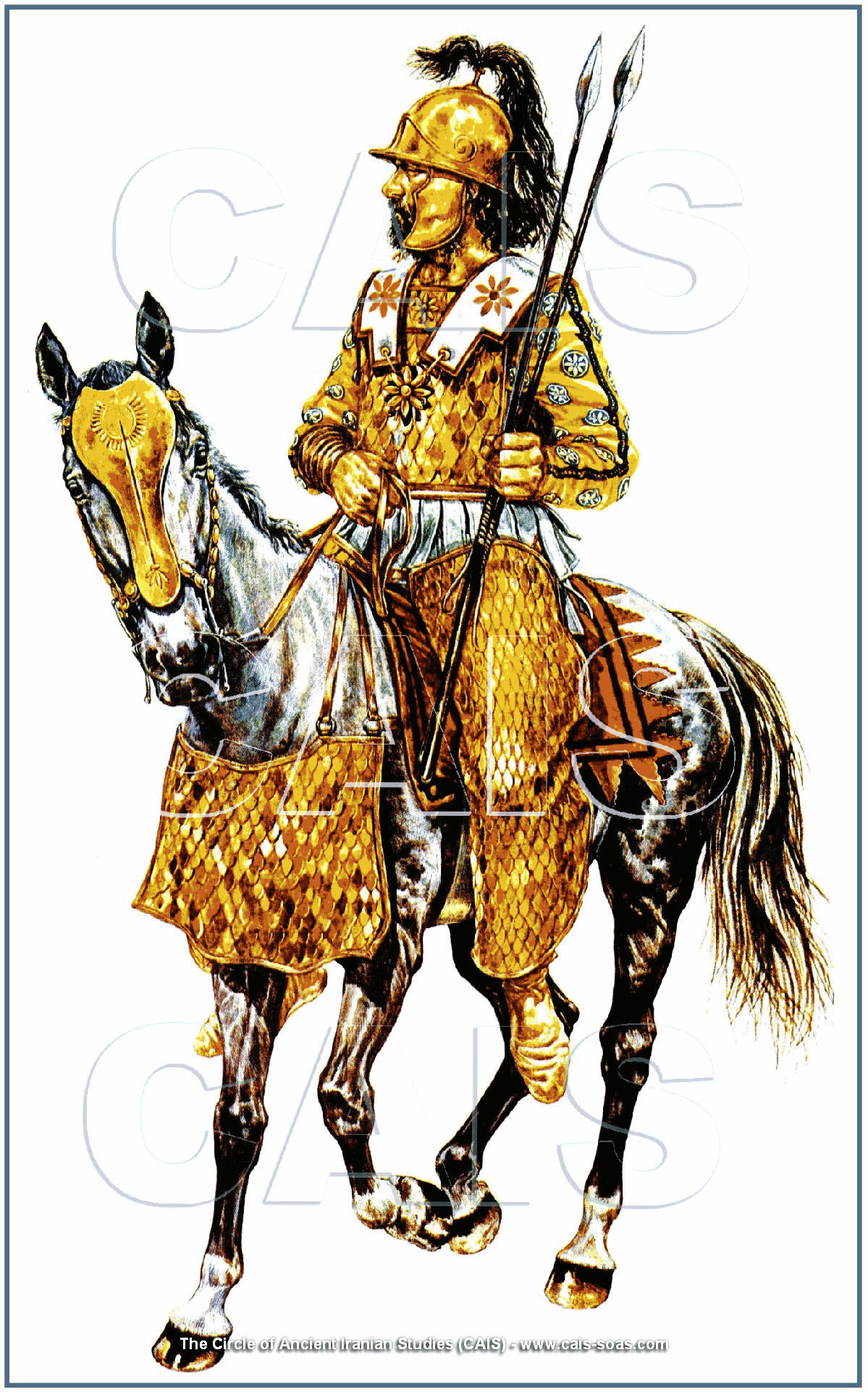 The ancient iranian military history the achaemenid imperial army achaemenid armored cavalry biocorpaavc Image collections